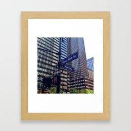 City Love.  Framed Art Print