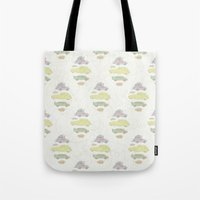 cars Tote Bags featuring Cars by Lena Pflüger Illustration