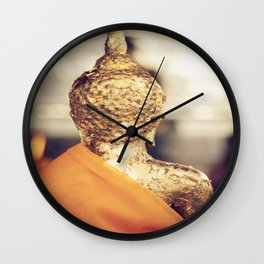 Buddha the other side  Wall Clock
