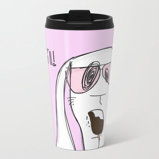 Let's chill! Metal Travel Mug