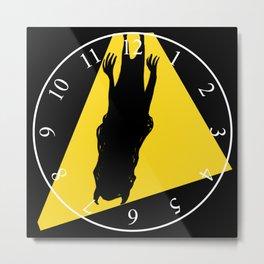 Wall Clock 011 Metal Print
