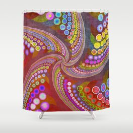 life is full of  colors -1- Shower Curtain
