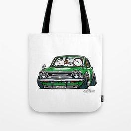 Crazy Car Art 0142 Tote Bag