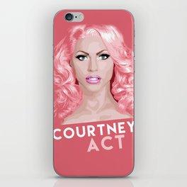 Courtney Act, RuPaul's Drag Race Queen iPhone Skin