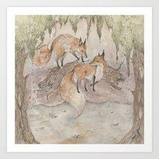 Fox [[ 1 ]] Art Print