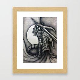 Sir Artorias - Dark Souls Framed Art Print