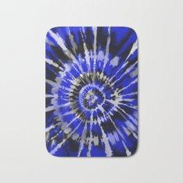 Dark Blue Tie Dye Bath Mat