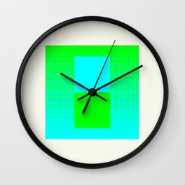 Vapor Composition Two Wall Clock