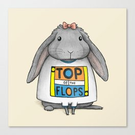 Top of the Flops Canvas Print