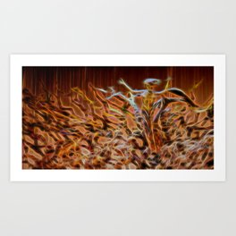 Abstract Resurrection Art Print