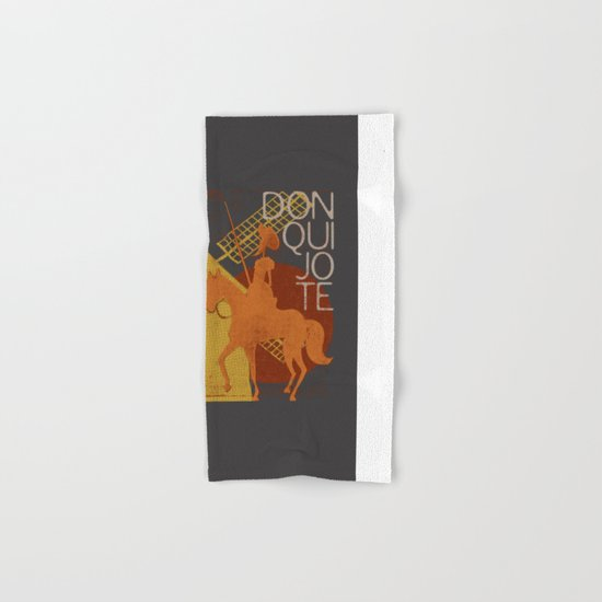 Books Collection: Don Quixote Hand & Bath Towel