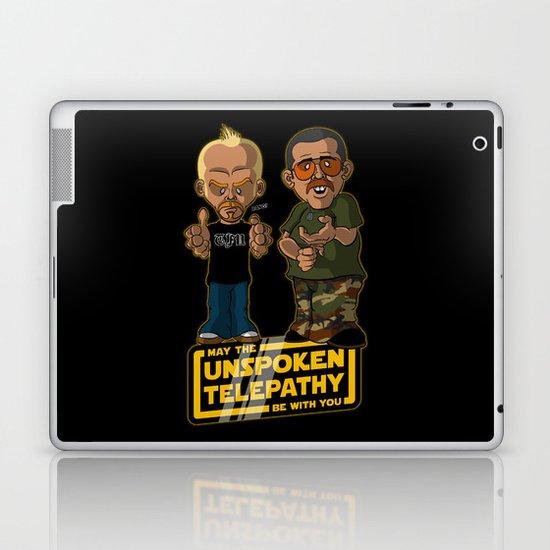 Unspoken Telepathy Laptop & iPad Skin