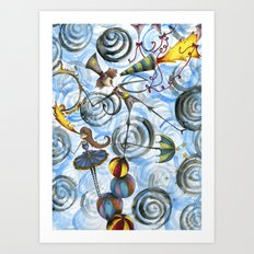 Mr. Kite! Art Print