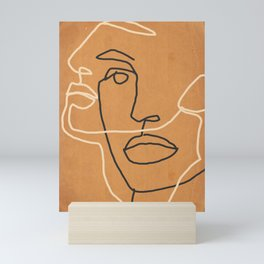 Abstract Face 6 Mini Art Print