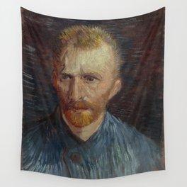 Self Portrait Wall Tapestry