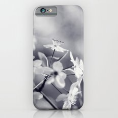Pear Blossoms in Black and White iPhone 6s Slim Case