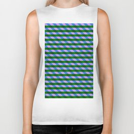 Color_Stripe_2019_002 Biker Tank