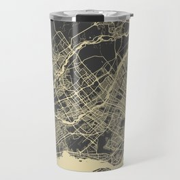 Montreal Map Travel Mug