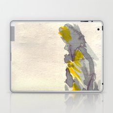 Yellow to Grey Laptop & iPad Skin