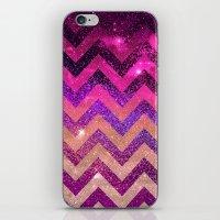 chevron iPhone & iPod Skins featuring  CHEVROn by Monika Strigel