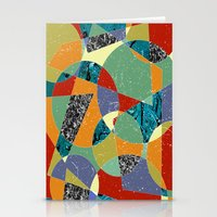 the 100 Stationery Cards featuring Abstract #100 by Ron Trickett