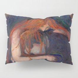 """Edvard Munch """"Vampire"""", 1895 Pillow Sham"""
