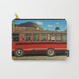 Bus in Vinales, Cuba Carry-All Pouch