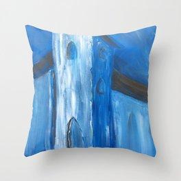 Evening Church Throw Pillow