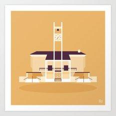 Glendale Adventist Academy Chapel Art Print