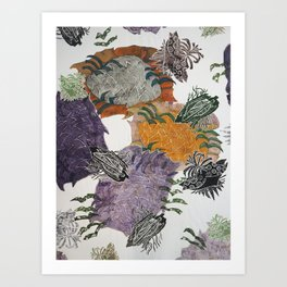 Carbonation Collection: fall Art Print