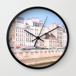 Bright Paris Wall Clock