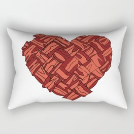 Don't Go Bacon My Heart Rectangular Pillow