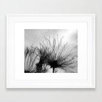frozen Framed Art Prints featuring Frozen by Anne Seltmann