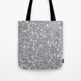 Sharkskin Polka Dot Bubbles Tote Bag