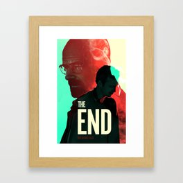 Breaking Bad - The End Print Framed Art Print