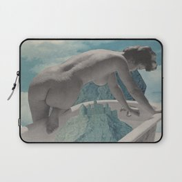 Testing The Waters - collage  Laptop Sleeve
