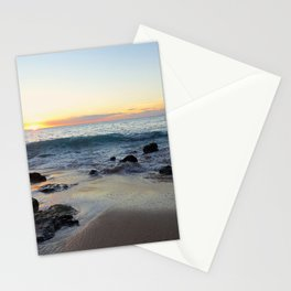 Sunset Over Molokai Stationery Cards