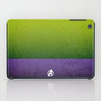 hulk iPad Cases featuring Hulk by El Pigro