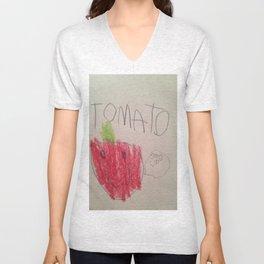 Tomato Speaks Unisex V-Neck