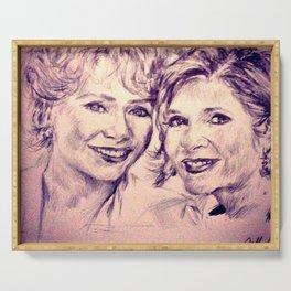 Debbie & Daughter Serving Tray