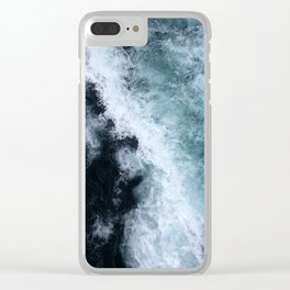 Ocean Wave #1 Clear iPhone Case