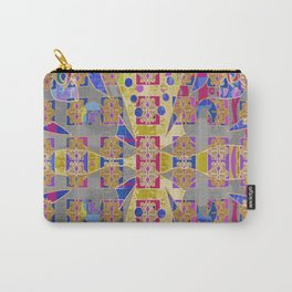 Radiant Egg Digital Quilt Design Carry-All Pouch