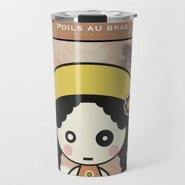Poils aux bras Travel Mug
