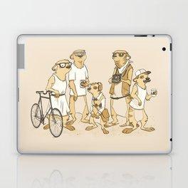 Hipster Meerkats Laptop & iPad Skin