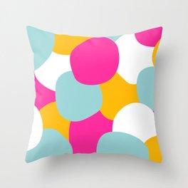 Coton Acidulé Throw Pillow
