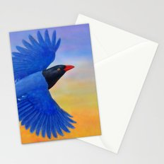 Taiwan Blue Magpie(1) Stationery Cards