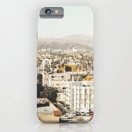 Hollywood California iPhone Case