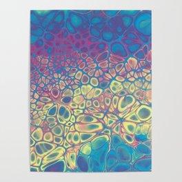 Fluid Color Poster
