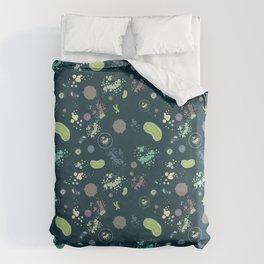Micro-organisms Duvet Cover