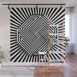 Impossible octagon Wall Mural